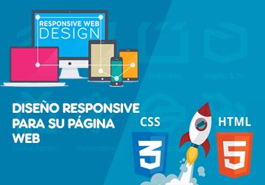 Diseño web responsive para su empresa