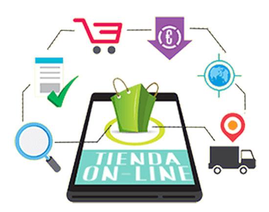Página web con carro de compras